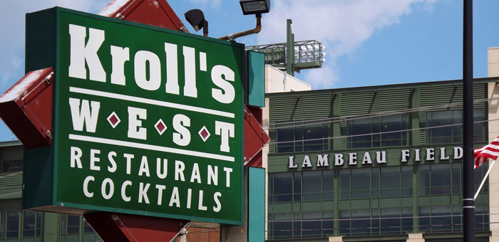 Kroll's West Bar & Restaurant - Delicious Food & Drinks next to Lambeau Field Stadium in Green Bay