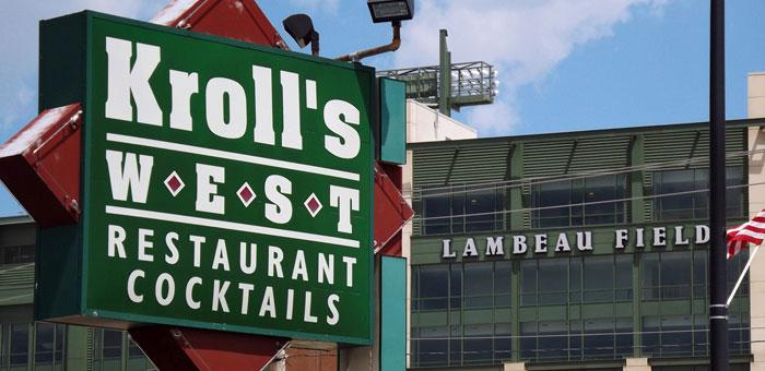 Kroll's West Bar & Restaurant - Delicious Food & Drinks next to Lambeau Field Stadium in Green Bay