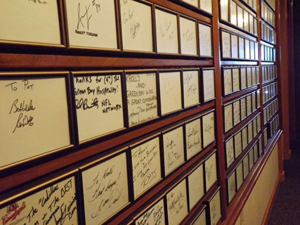Kroll's West Signature Wall